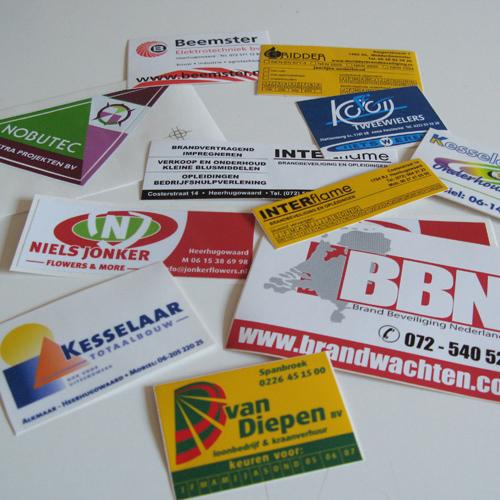mos reclame stickers zeefdruk print