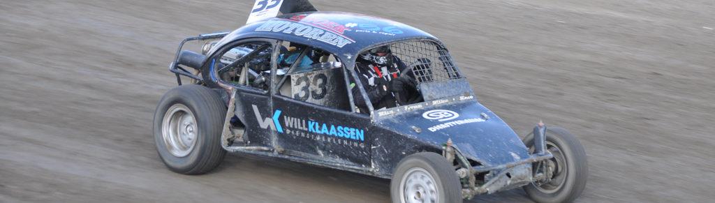 mos reclame belettering kever autocross Snoek Motoren