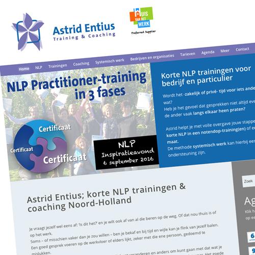 mos reclame website astrid entius training en coaching