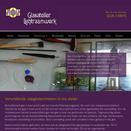 mos reclame website lichtraamwerk